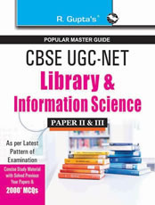 CBSE UGC-NET/SET: Library & Information Science (Paper II & III) Guide