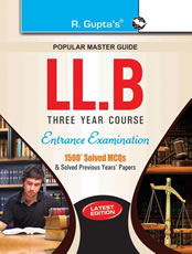 LLB (3 Years Course) Entrance Examination Guide