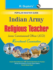 Indian Army - Religious Teacher (JCO) Exam Guide