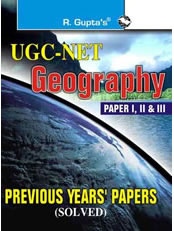 CBSE-UGC-NET : Geography Previous Papers (Solved)