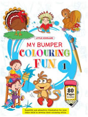 Bumper Colouring Fun - 1
