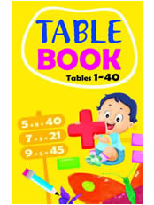 Table Book: Tables 1 to 40