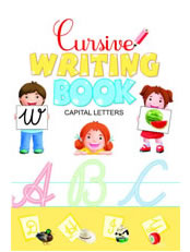 Cursive Writing Book-Capital Letters