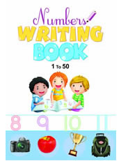 Number Writing Book: 1 to 50