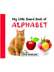 My Little Board Book of Alphabets