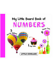 My Little Board Book of Numbers