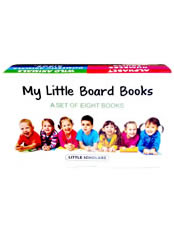 My Little Board Books - Gift Box - Set of 8 Books