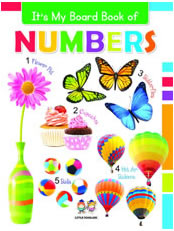 It's My Big Board Book of NUMBERS