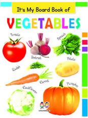 It's My Big Board Book of VEGETABLES