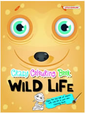 Crazy Colouring Book: Wild Life