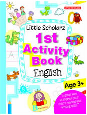 Little Scholarz 1st Activity Book English