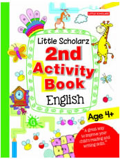 Little Scholarz 2nd Activity Book English