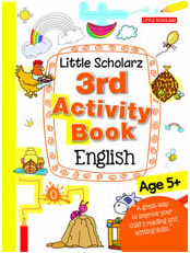 Little Scholarz 3rd Activity Book English