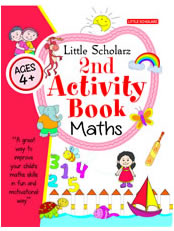 Little Scholarz 2nd Activity Book Maths