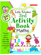 Little Scholarz 3rd Activity Book Maths