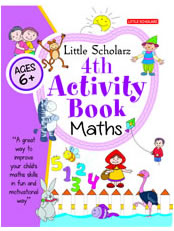 Little Scholarz 4th Activity Book Maths