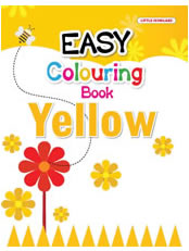 Easy Colouring Book (Yellow)