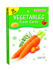 Big Flash Cards Vegetables