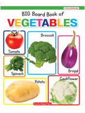 New Big Board Book Of Vegetables