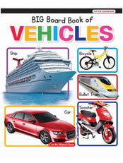 Big Board Book of Vehicles