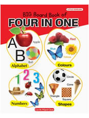 Big Board Book of Four in One