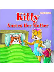 Kitty-Nurses Her Mother