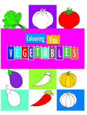 Colouring Fun - Vegetables