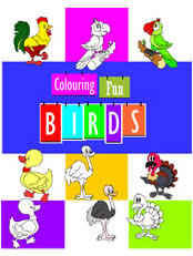 Colouring Fun - Birds
