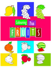 Colouring Fun - Fruits