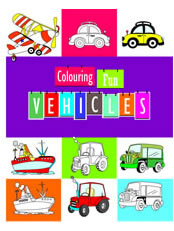 Colouring Fun - Vehicles